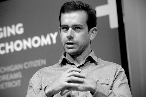 Jack Dorsey, chairman of Twitter and CEO of Square, takes part in a Techonomy Detroit panel discussion held at Wayne State University in Detroit, Michigan September 17, 2013.  REUTERS/Rebecca Cook (UNITED STATES - Tags: BUSINESS SCIENCE TECHNOLOGY) - RTX13P77